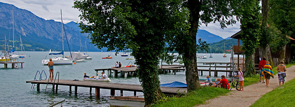 Camping am attersee